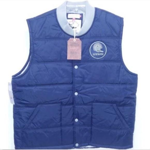 wholesale dealer 57a41 a0d33 Mitchell & Ness NFL Dallas Cowboys Vest NWT